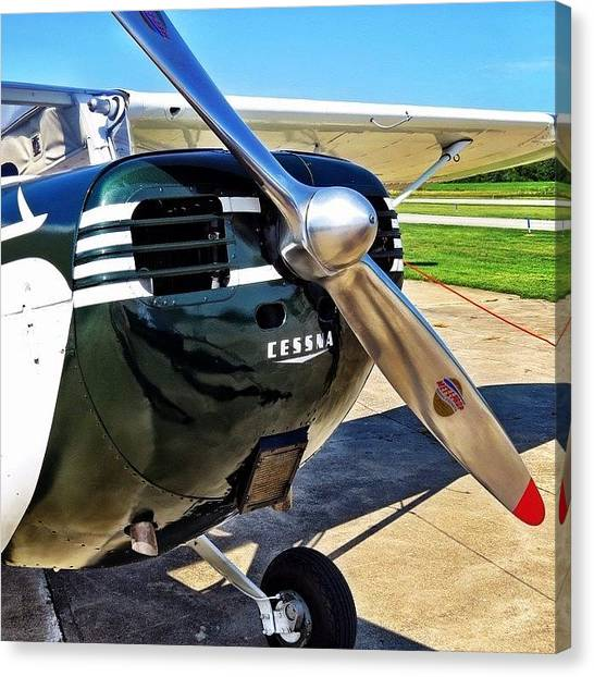 Prop Planes Canvas Print - I Love Old Taildraggers. Especially An by Harrison Miller