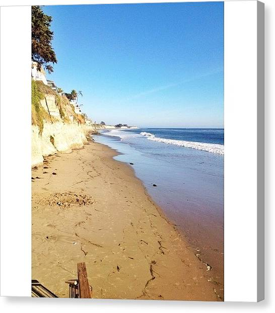 Ucsb Canvas Print - i Love To See Anything That Implies A by Mckenzie Kane