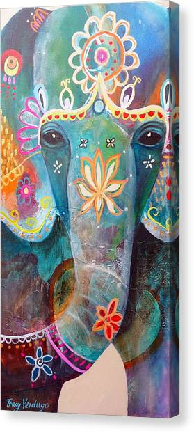 Indian Canvas Print - I Remember You by Tracy Verdugo