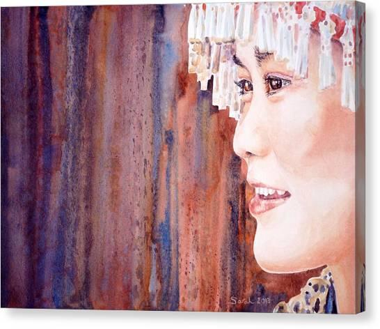 I See Canvas Print by Sarah Kovin Snyder