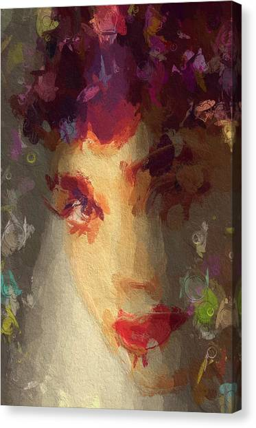 Hepburn Canvas Print - I See Your True Colors by Steve K