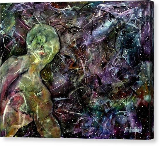 Joni Mitchell Canvas Print - Stardust - I Sing The Body Electric by Jim Whalen