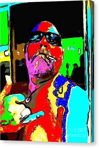 I Still Smoke Canvas Print