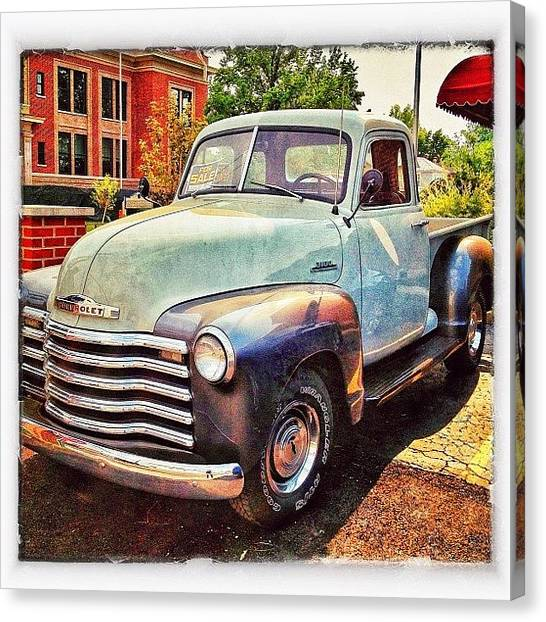 Trucks Canvas Print - I Want This #truck !!!💙 I Would Love by Erica Milligan