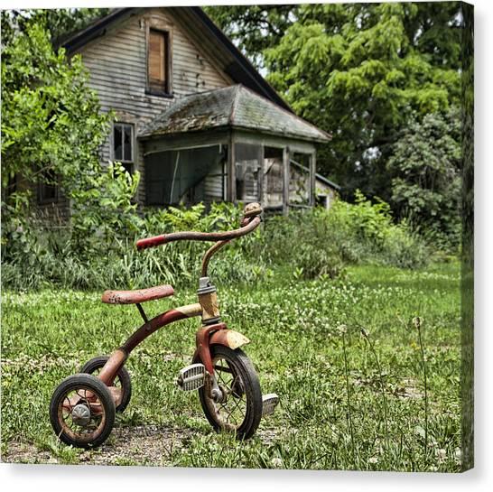 I Want To Ride It Where I Like Canvas Print