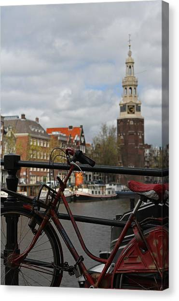 I Want To Ride My Bicycle  Canvas Print by Juergen Roth
