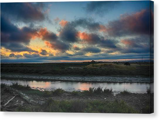 Wetlands Canvas Print - I Wish It Would Never End by Laurie Search