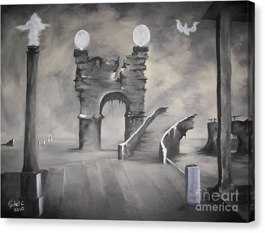 I Wont Cross That Bridge Again Canvas Print