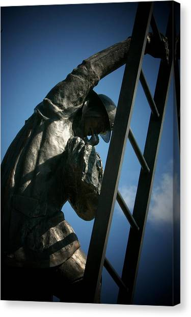 Iaff Fallen Firefighters Memorial  2 Canvas Print