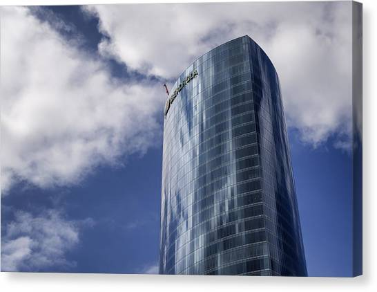 Iberdrola Tower Canvas Print