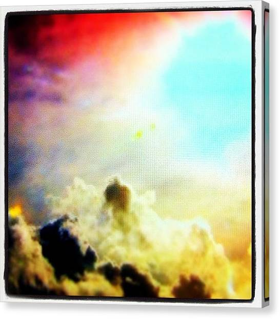 Jets Canvas Print - Icarus's Last View by Urbane Alien