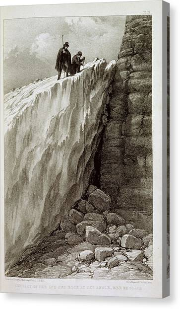 English And Literature Canvas Print - Ice And Rock by British Library