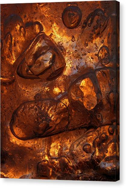 Ice Chocolate Canvas Print