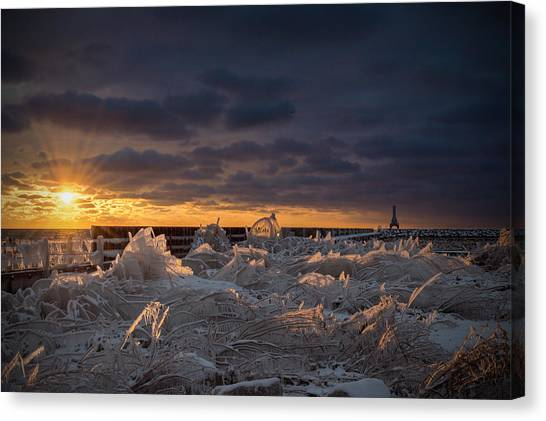 Ice Fields Canvas Print
