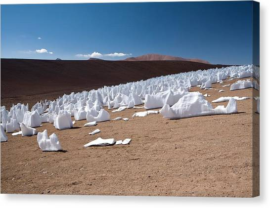 Chilean Canvas Print - Ice Penitentes by European Southern Observatory