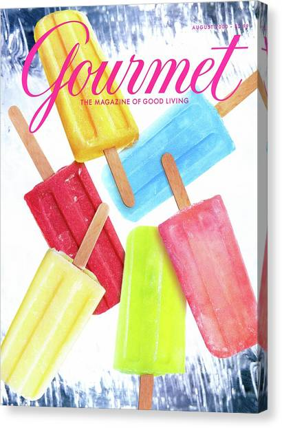 Ice Pops Canvas Print by Craig Cutler