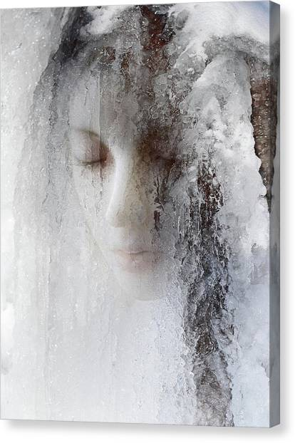 Queens Canvas Print - Ice Queen by Jeffrey Hummel