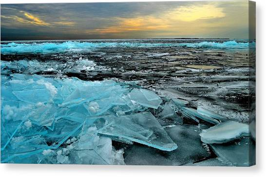 Ice Storm # 6 - Battery Bay - Kingston - Canada Canvas Print