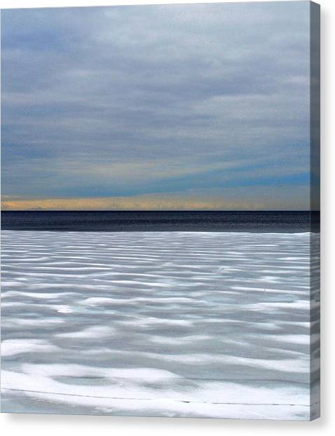 Ice Wind - Pattern - Canada Canvas Print