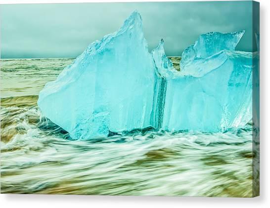 Iceberg Flow Canvas Print