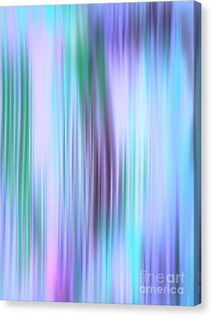 Iced Abstract Canvas Print