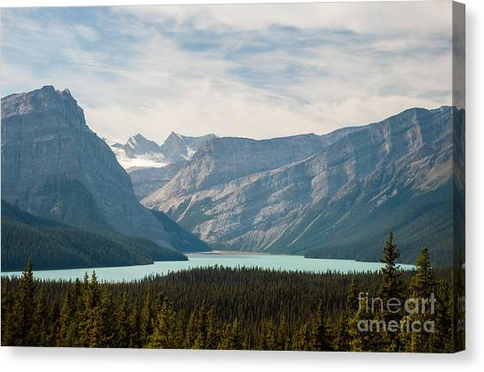 Icefields Parkway 2.0584 Canvas Print by Stephen Parker
