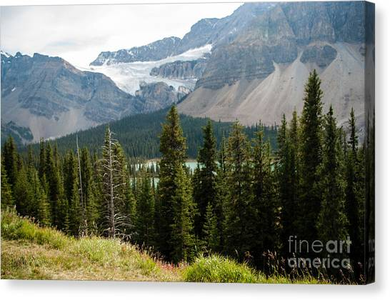 Icefields Parkway 2.0590 Canvas Print by Stephen Parker