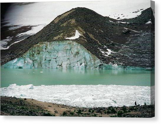 Icefields Canvas Print by Shirley Sirois