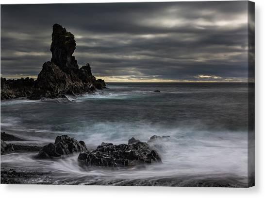 Iceland, Dritvik Canvas Print by Jaynes Gallery