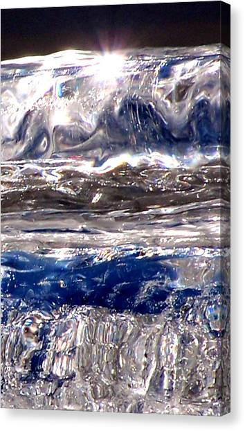 Icicle Mysteries Canvas Print