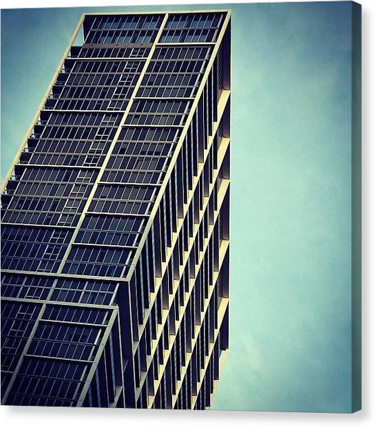 Iger Canvas Print - Icon Bldg. - Miami by Joel Lopez