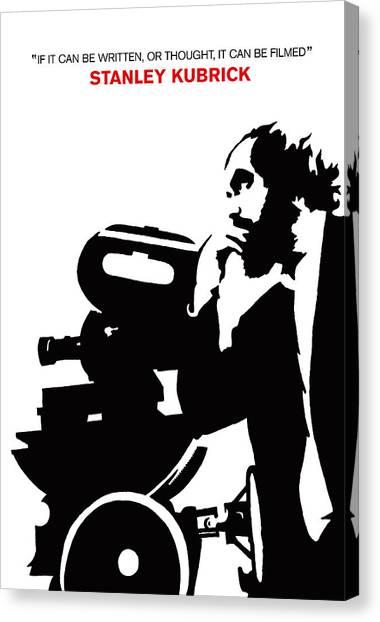 Clockwork Orange Canvas Print - Iconic Stanley Kubrick Poster by Kevin Trow