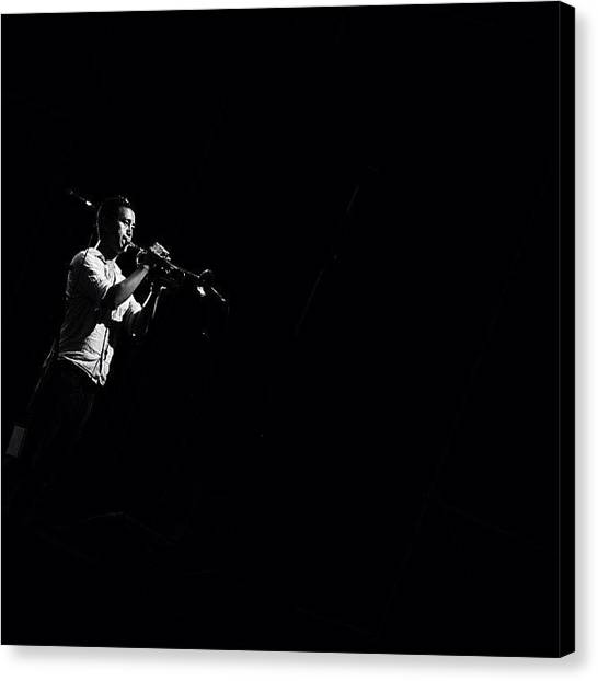 Trumpets Canvas Print - I'd Like To Call It the Lonely by C C