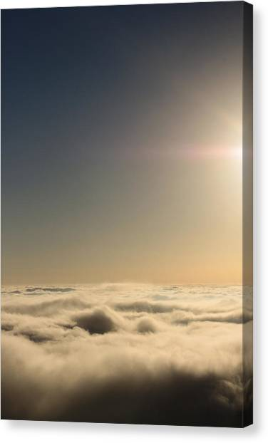 Idyllwild Clouds Canvas Print by Denice Breaux
