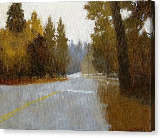 Robert Frank Canvas Print - Idyllwild Morning by Robert Frank