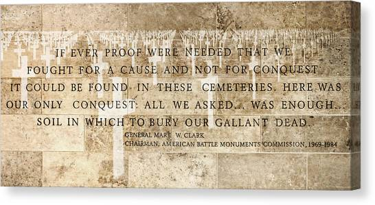 If Ever Proof Were Needed Canvas Print