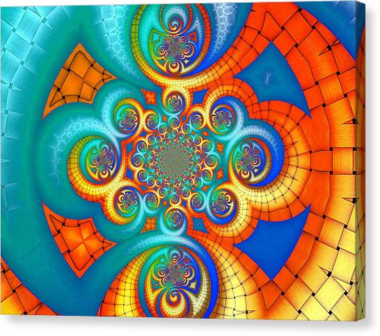 If Orange Is The New Blue . . . Canvas Print