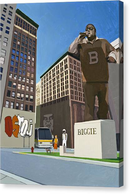 Hip Hop Canvas Print - If You Dont Know Now You Know by Scott Listfield