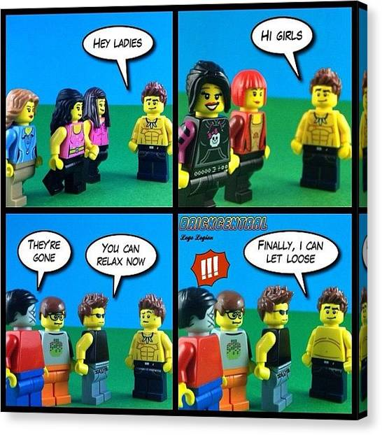 The Legion Canvas Print - If You Enjoy The Comics On Lego Legion by Lego Legion