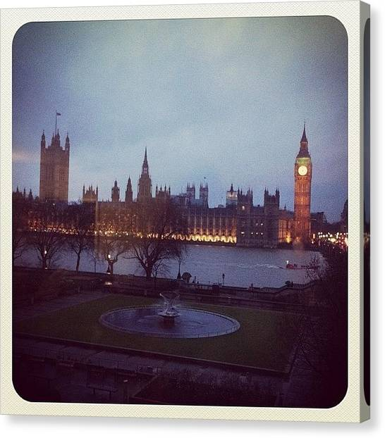 Big Ben Canvas Print - London by Maaike Bateson