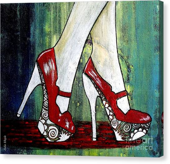 If You Walked In My Shoes Canvas Print