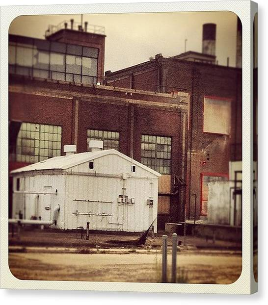 Factories Canvas Print - #igaddicts #igersdenver by Shellie Bee