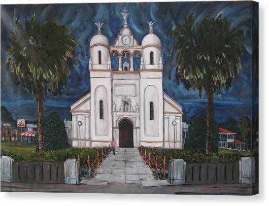 Iglesia Curridabat  Costa Rica Canvas Print