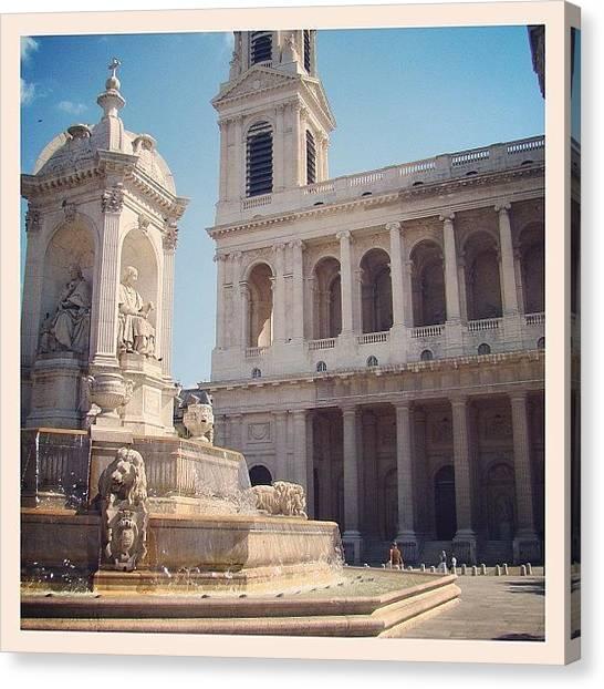 Europa Canvas Print - #iglesia #santosuplicio #paris #franca by Marco Santos