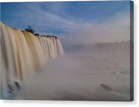 Iguazu Falls Canvas Print - Iguacu Mist by Mike Reid