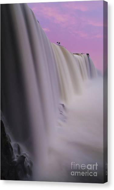 Iguazu Falls Canvas Print - Iguacu Sunrise by Mike Reid