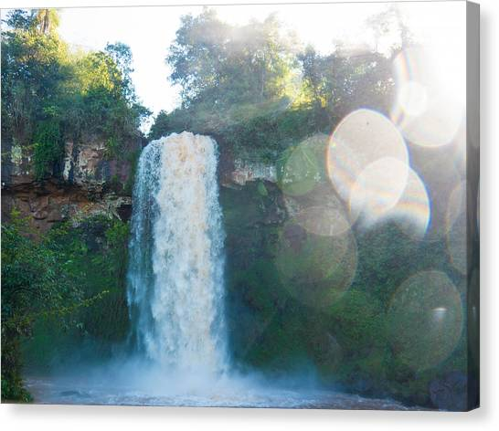 Iguazu Falls Canvas Print - Iguazu Fall by Shohei Takada