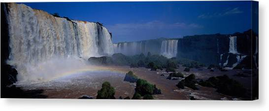 Iguazu Falls Canvas Print - Iguazu Falls, Argentina by Panoramic Images
