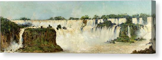 Iguazu Falls Canvas Print - Iguazu Falls by Augusto Ballerini