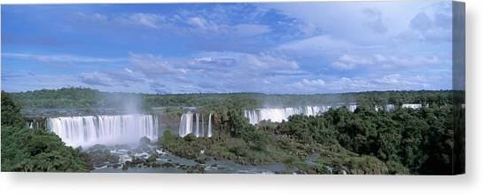 Iguazu Falls Canvas Print - Iguazu Falls Iguazu National Park Brazil by Panoramic Images